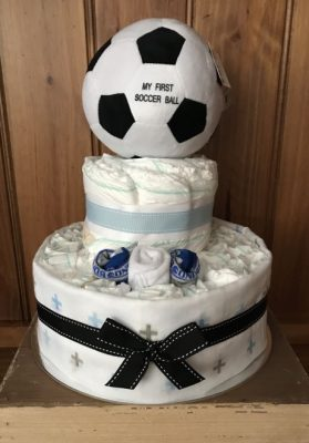 Nappy Cake Soccer Ball